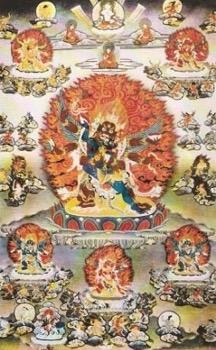 mandala hněvivá božstva