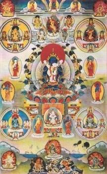 mandala pokojná božstva