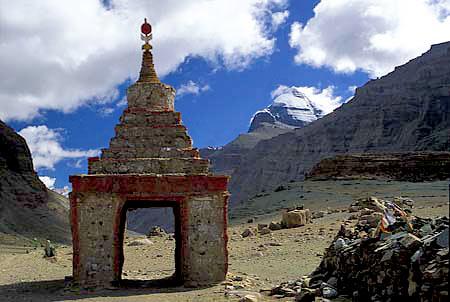 Kailás stupa